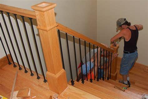 corrimano in legno prezzi materiali ringhiere interne scale e ascensori