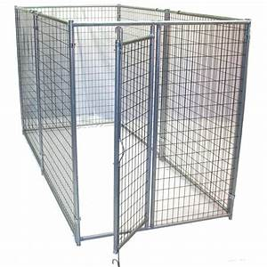 shop options plus 10 ft x 5 ft x 6 ft outdoor dog kennel With outdoor dog kennel box kit