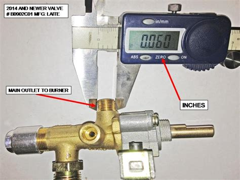 hiland gas valve for ng ss heaters