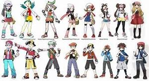t witch player did you chose in pokemon games of each gen of pokemon 1 6