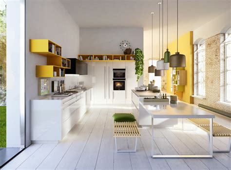 contemporary kitchen design kitchens   pop  color