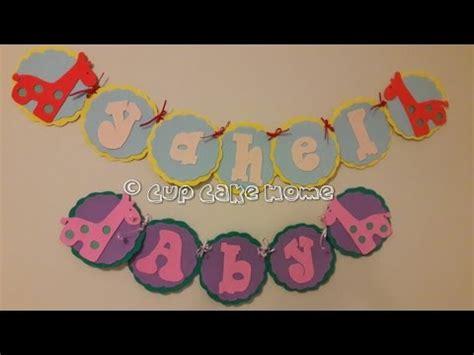 Letrero de baby shower niña/niño (jirafa) YouTube