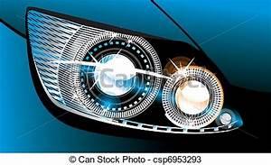Phare Auto : phare voiture moderne luminescent lampe conception vecteurs search clip art illustration ~ Gottalentnigeria.com Avis de Voitures