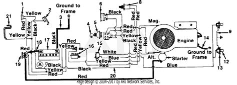 Huskee Mower Electrical Diagram by Mtd Tsc Mdl 249 623 131 Parts Diagram For Electrical