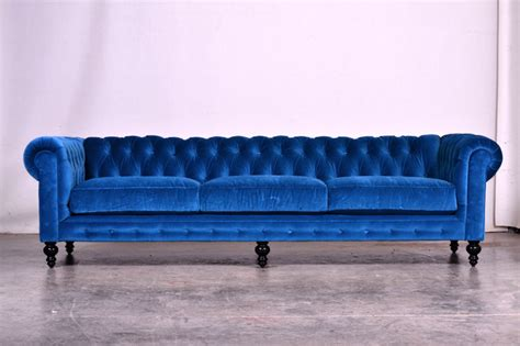 Navy Throws For Sofa by Blue Velvet Chesterfield Sofa Modern And Contemporary
