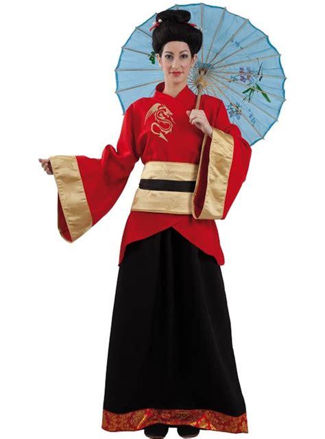 Disfraz de china geisha para mujer Entrega 24h Funidelia