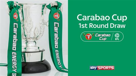 Carabao Cup first-round draw | Football News | Sky Sports
