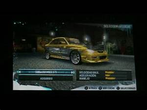 NEED FOR SPEED CARBON PSP - YouTube