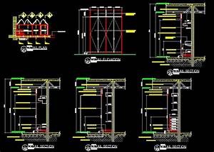 Closet Custom Built In Plans Details CAD Files DWG