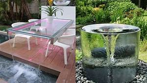 Outdoor Water Fountain design ideas DIY Outdoor Fountain Ideas - YouTube