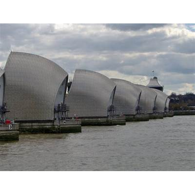 Panoramio - Photo of Thames Barrier