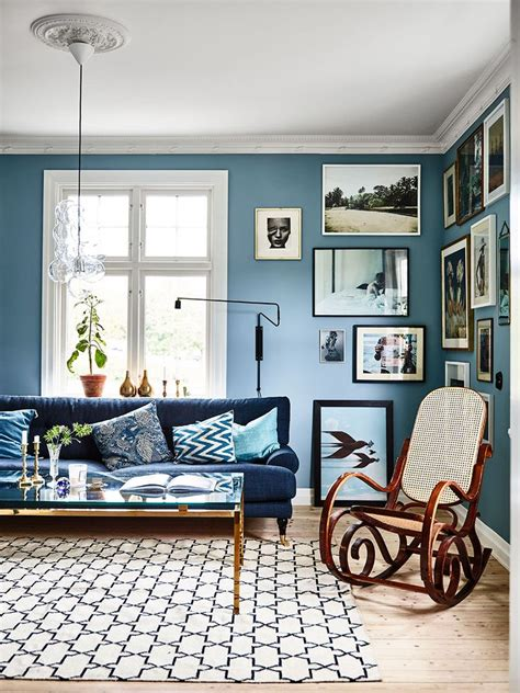 Blaue Wand Wohnzimmer by Best 25 Blue Living Rooms Ideas On Blue And