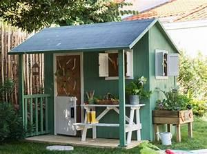 Abri De Jardin Bois Solde : cabane jardin diy abri de jardin et balancoire id e ~ Melissatoandfro.com Idées de Décoration