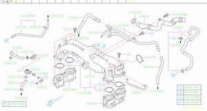 99071ac010 - Hose Vacuum  Manifold  Intake  Pipe