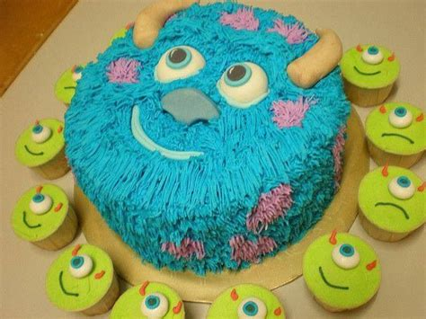 monsters inc cake monsters inc cake wow cakes cakes mike d