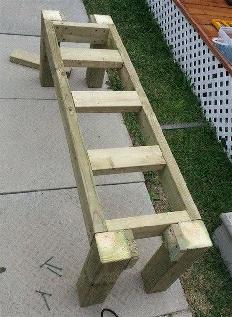 best 25 patio bench ideas on diy outdoor