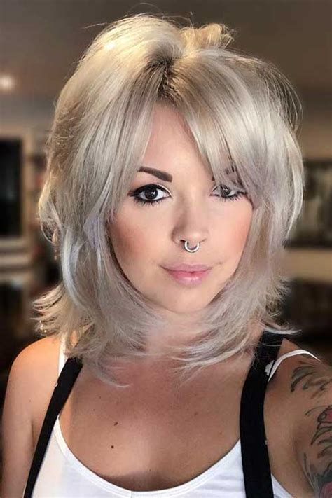 35 popular short medium layered haircuts short hairstyless com