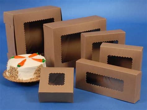 Natural Kraft Window Bakery Boxes  Splash Packaging