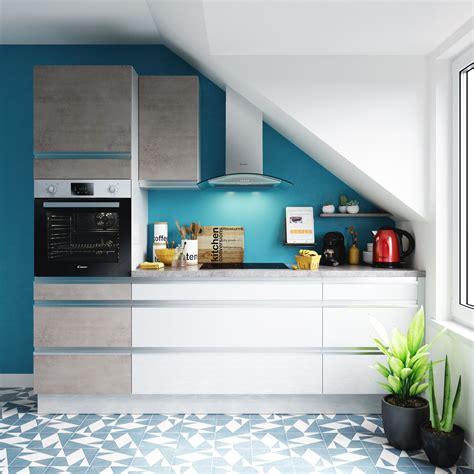 cuisine blanche et bleue quelles couleurs associer dans une cuisine blanche