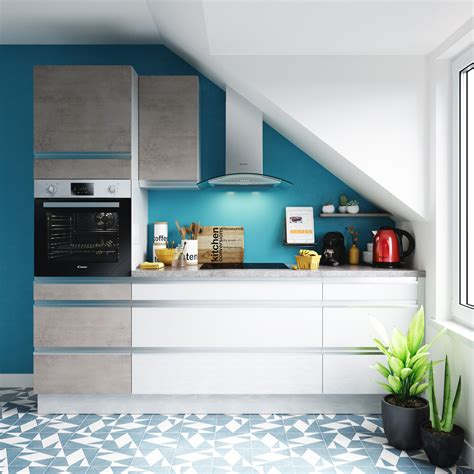 quelles couleurs associer dans une cuisine blanche