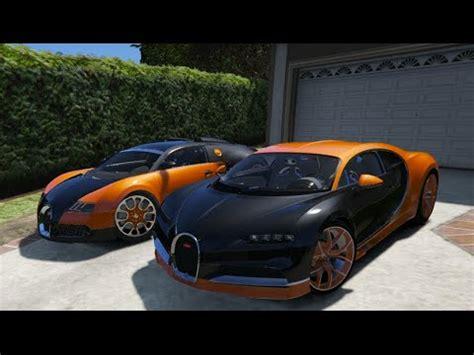 gta  bugatti chiron  bugatti veyron gta  mod