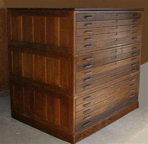 art flat file storage cabinets flat file cabinet antique wood art plan map blueprint