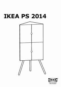 Ikea Meuble D Angle : ikea ps 2014 meuble d 39 angle blanc gris ikea france ikeapedia ~ Teatrodelosmanantiales.com Idées de Décoration