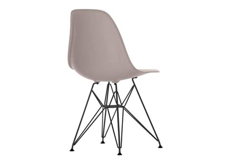 chaise eames grise eames plastic side chair dsr chaise basic vitra