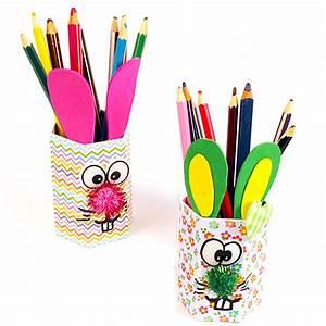 Pot A Crayon : pots crayons t te de lapin ~ Teatrodelosmanantiales.com Idées de Décoration