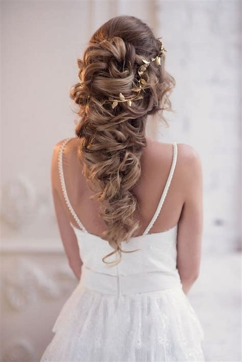 long bridesmaid hair bridal hairstyles  wedding