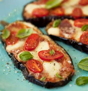 Baked Eggplant Pizza Recipes