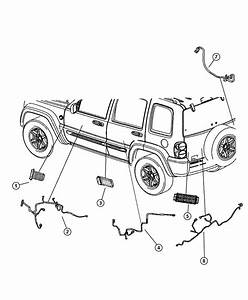 Jeep Patriot Wiring  Jumper  Power Door Lock  Handle