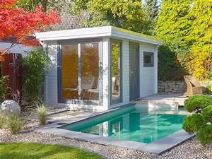 Saunahaus Im Garten : familiengarten mit schwimmteich und sauna ~ Sanjose-hotels-ca.com Haus und Dekorationen
