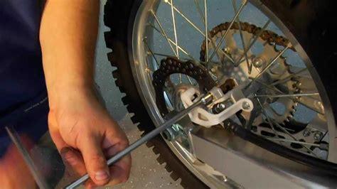 Dirt Bike Brake Pad Installation