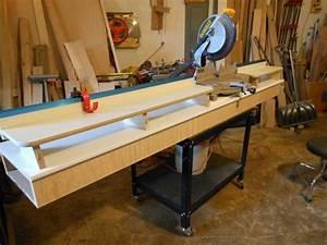 Wood Ultimate Miter Saw Station Plans PDF Plans