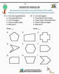Free Printable Math Worksheets For 4th Grade Angles