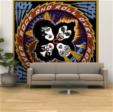 Wall Murals Rock And Roll by Kissmas 2011 Destroyer Army Sweden