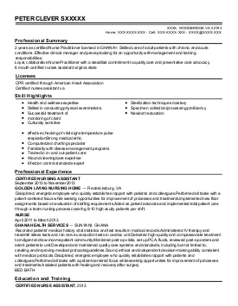 house supervisor clinical measures abstractor resume