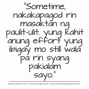 Patama and Selos Quotes Tagalog