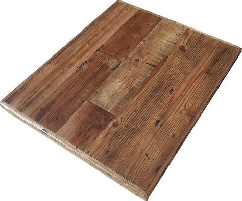 reclaimed wood table top straight planks rc supplies