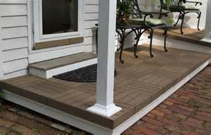 How To Lay Outdoor Carpet by How To Resurface Your Porch Or Veranda With Interlocking