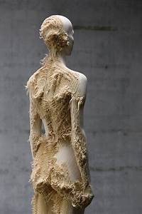New distressed wood figures by aron demetz colossal for New distressed wood figures by aron demetz