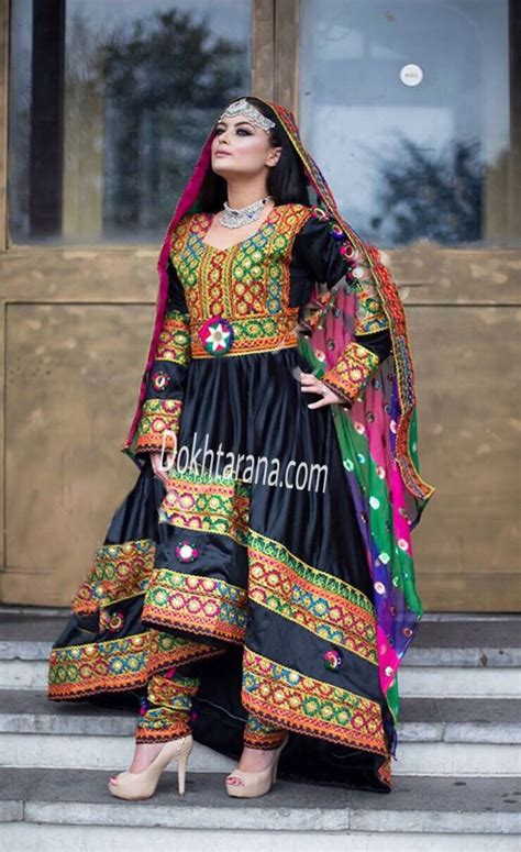black afghani dress afghani clothes