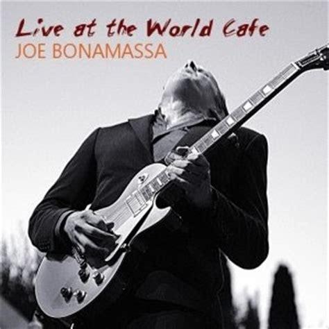 Music Art Vcl Joe Bonamassa  Live At The World Cafe