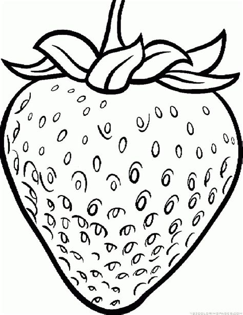 Coloring Strawberry by 42 Best Strawberry Coloring Pages Images On