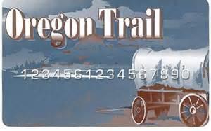 Oregon Trail EBT Card