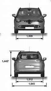 Renault Clio Dimensions : renault clio dimensions technical specifications ~ Nature-et-papiers.com Idées de Décoration