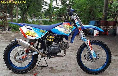 Modifikasi Jupiter Z 2005 by Modifikasi Motor Trail Inspiratif 2017 2018 Modifcorp