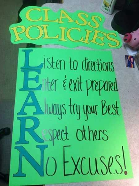 great class rules  images classroom  grade