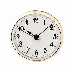 2-3/4'' Clock Insert with Arabic Numerals Rockler